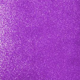 Purple glitter foam